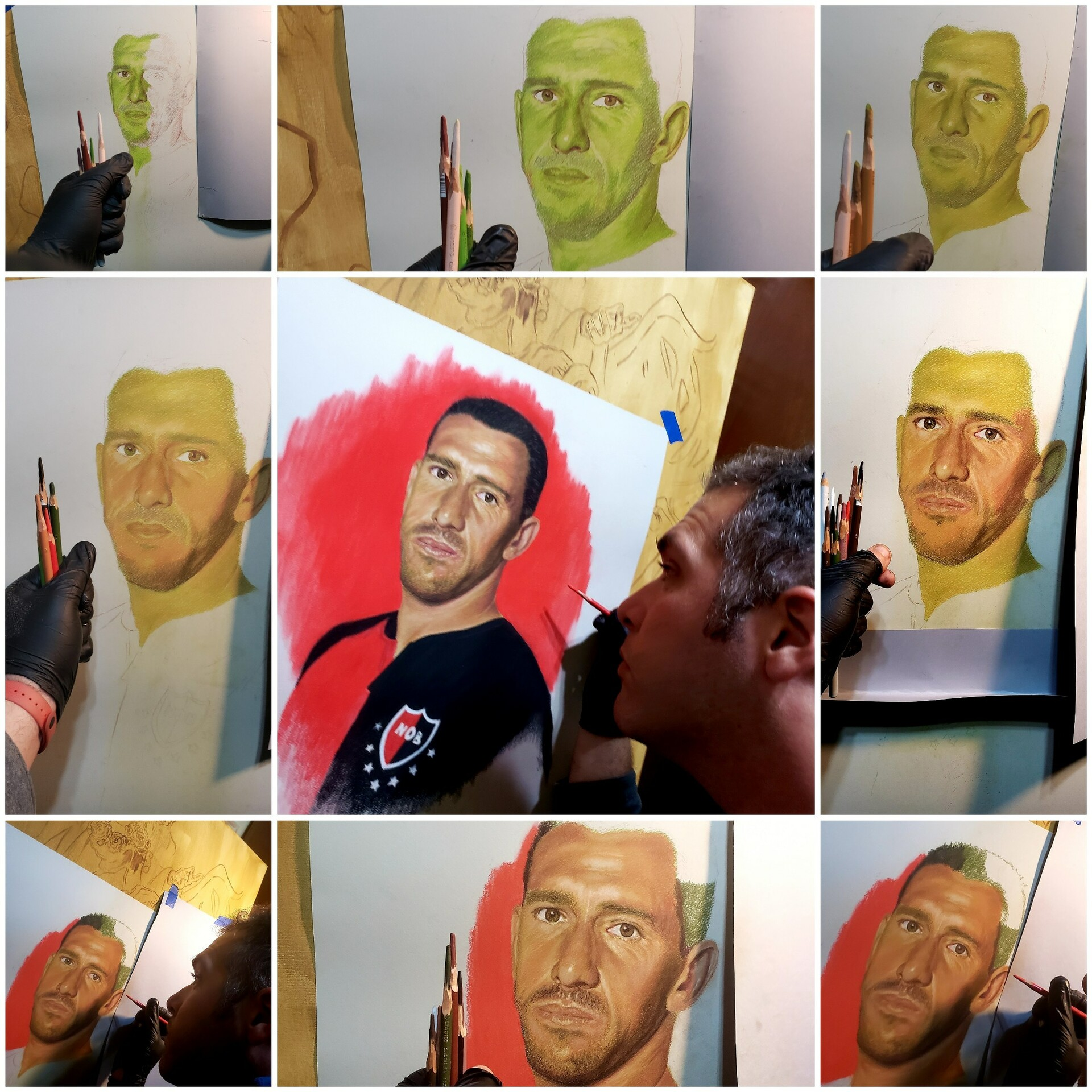Maxi ROdriguez Step by Step