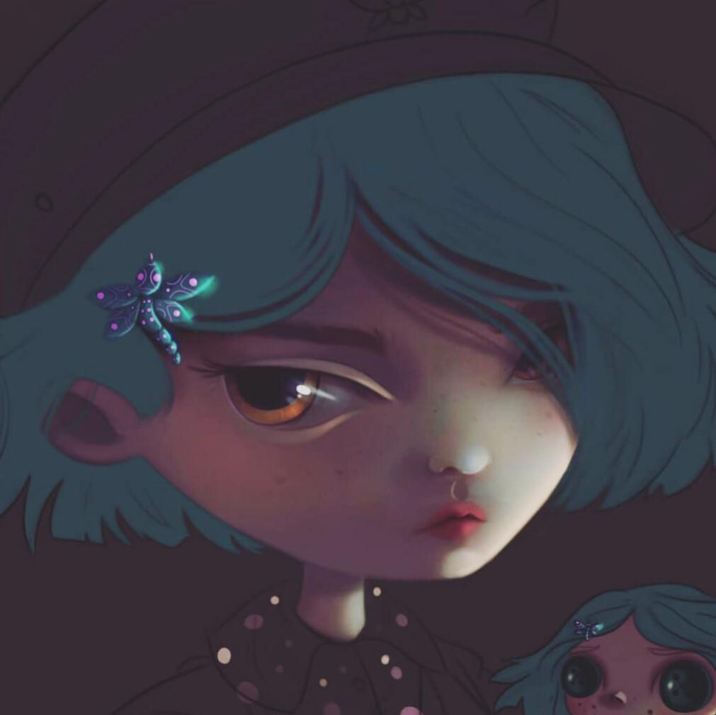 Artstation Coraline Fanart Merve Kaya
