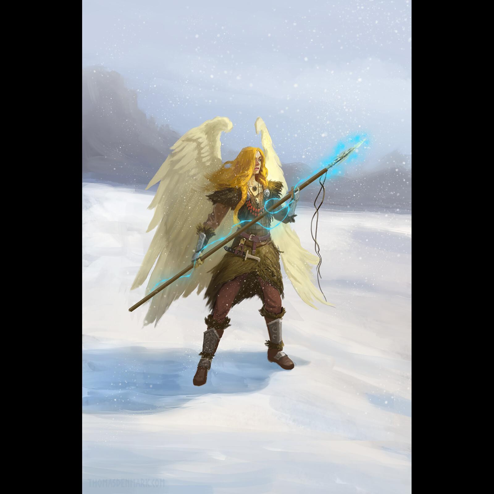 Rota Freyasdottir - Valkyrie of Sleet