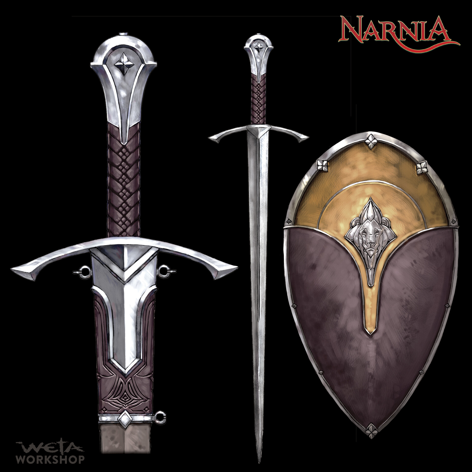 King Edmund's Sword and Shield