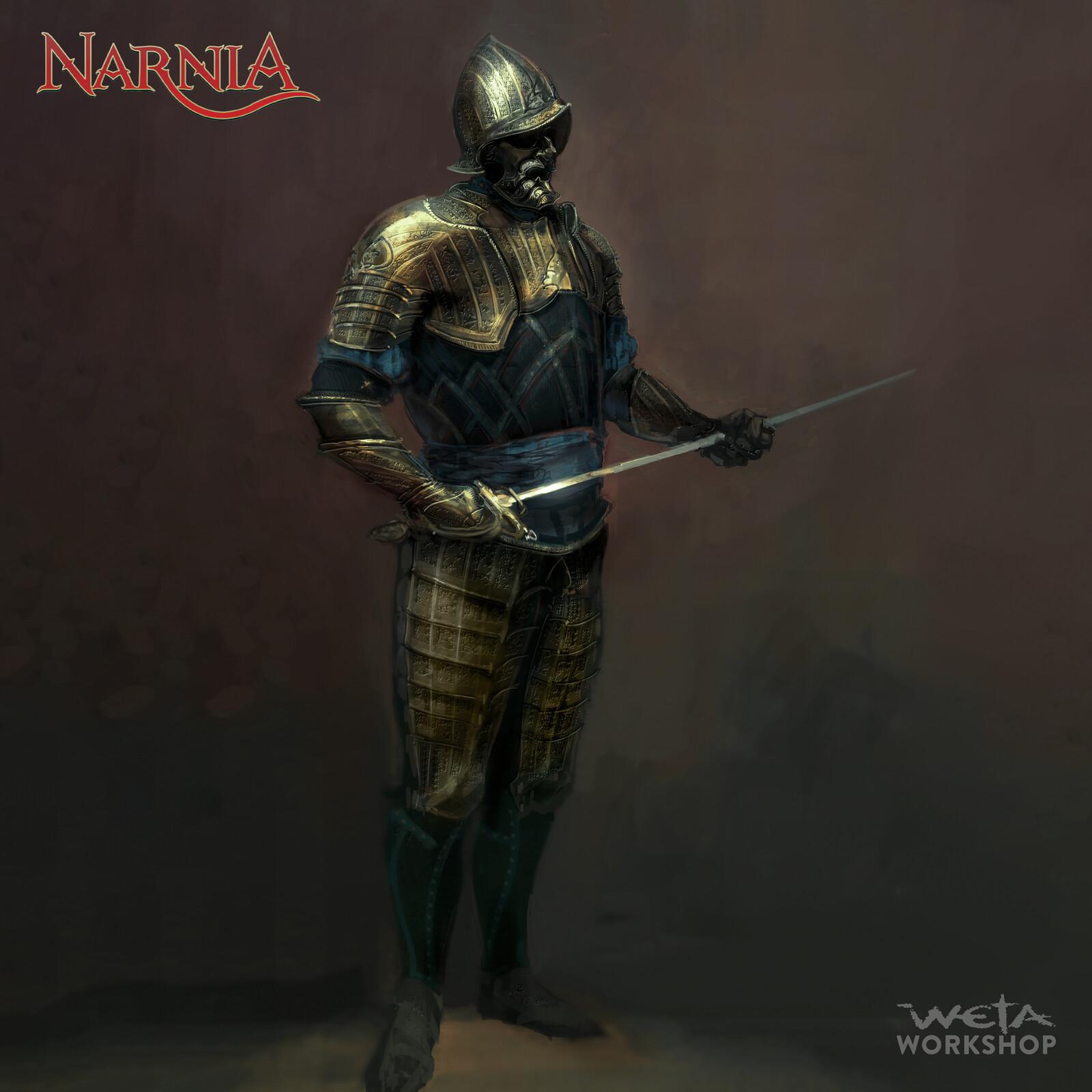 Narnia: Miraz's Armor