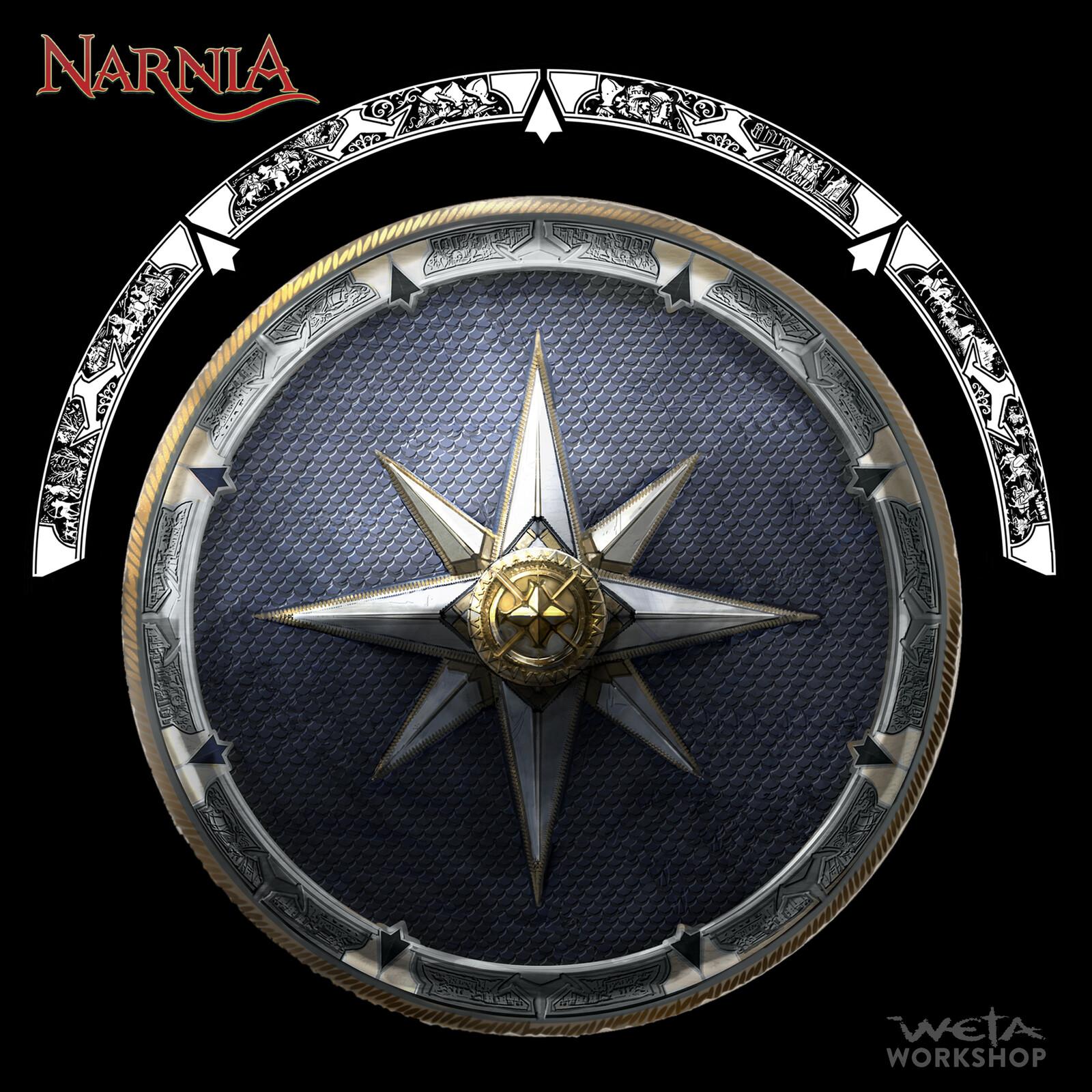 Narnia: Miraz's Shields