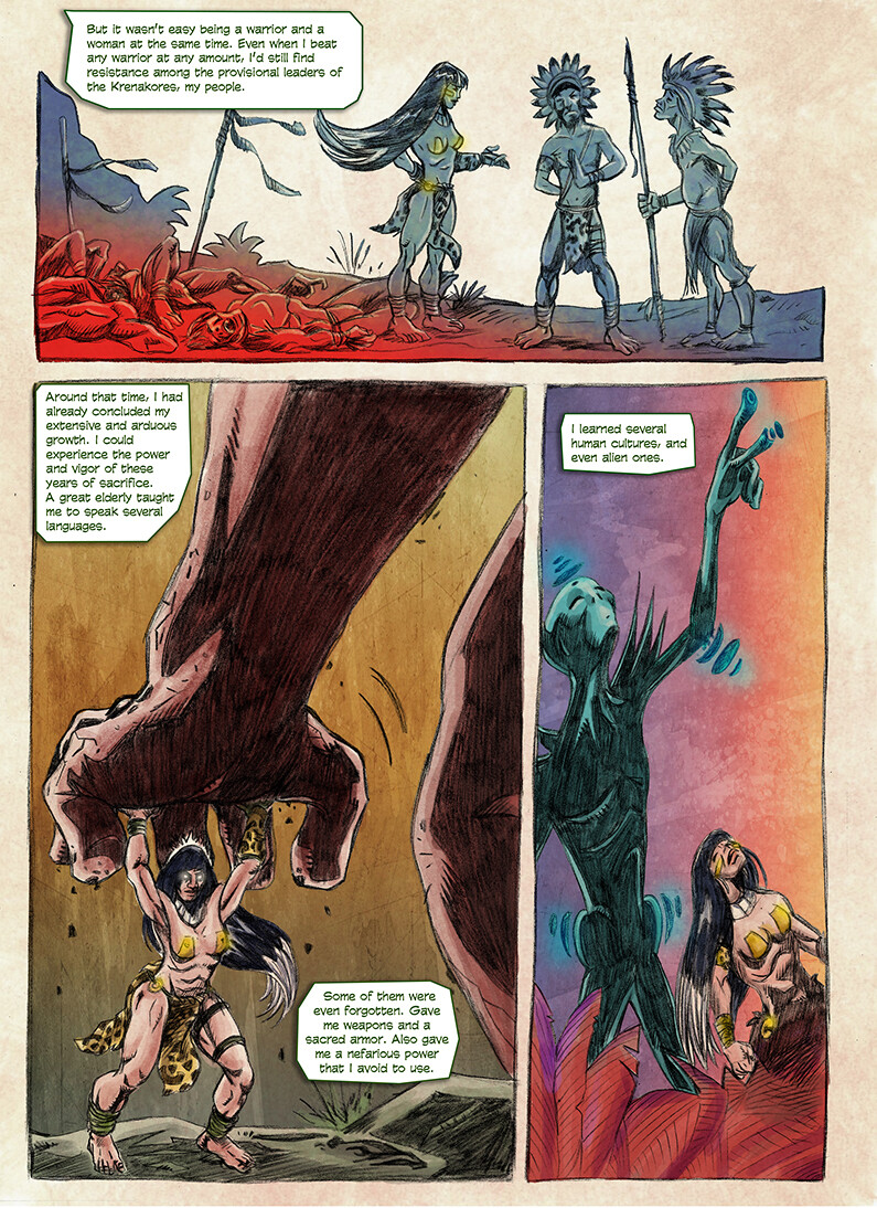 Origin of Jaguara - 2ª page
