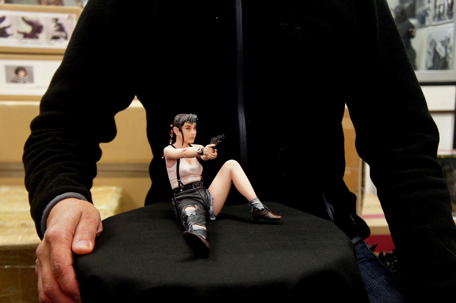 雨宮慶太: ゼイラム II イリア (森山 祐子)  Keita Amemiya : Zeiram II Iria Yûko Moriyama Art Statue https://www.solidart.club/