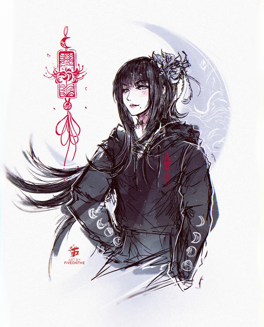Tsuyu Nightbloom Hoodie.