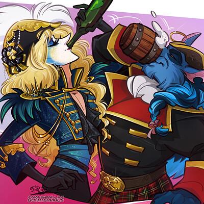 Shamine king treasure chest party quest da