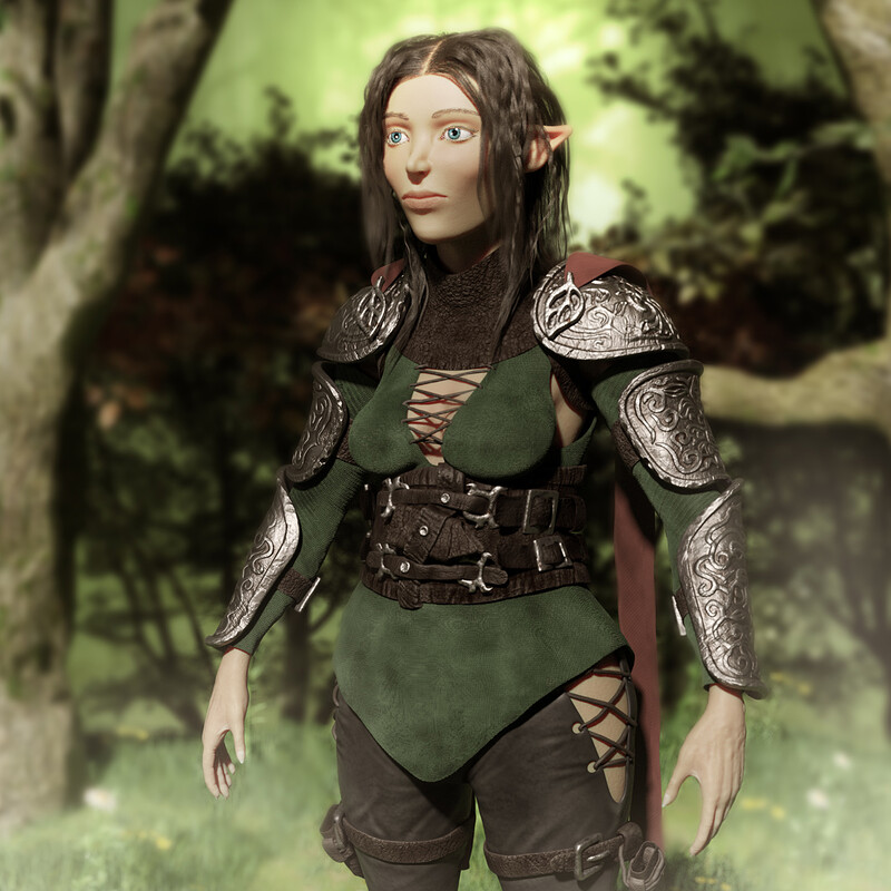 Danera of The Wood Elves