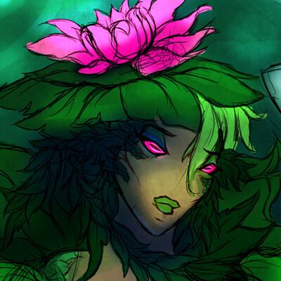 Taylor g lotus mermaid concept
