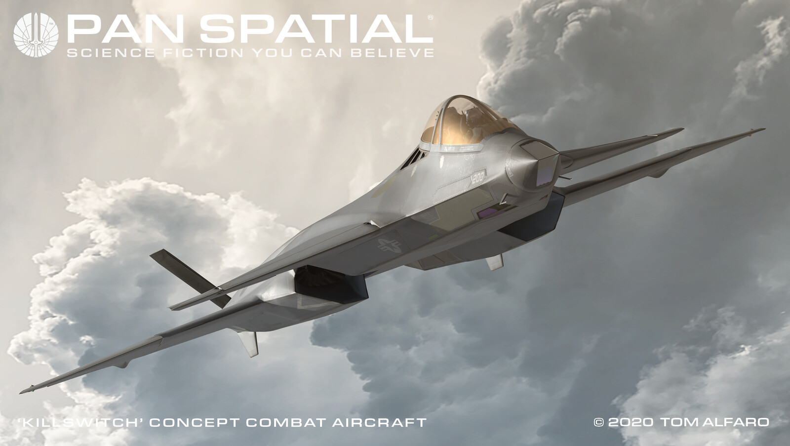 Killswitch Concept Combat Aircraft Part 2
