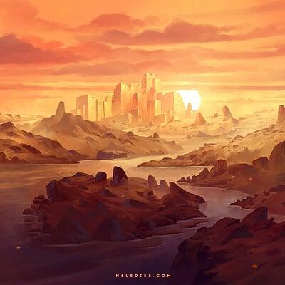 Nele diel desert realm