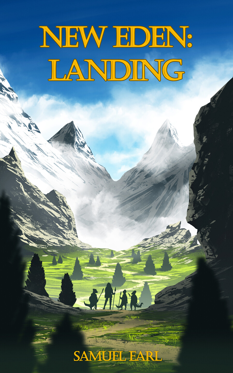 Commission NEW EDEN: LANDING Book Cover