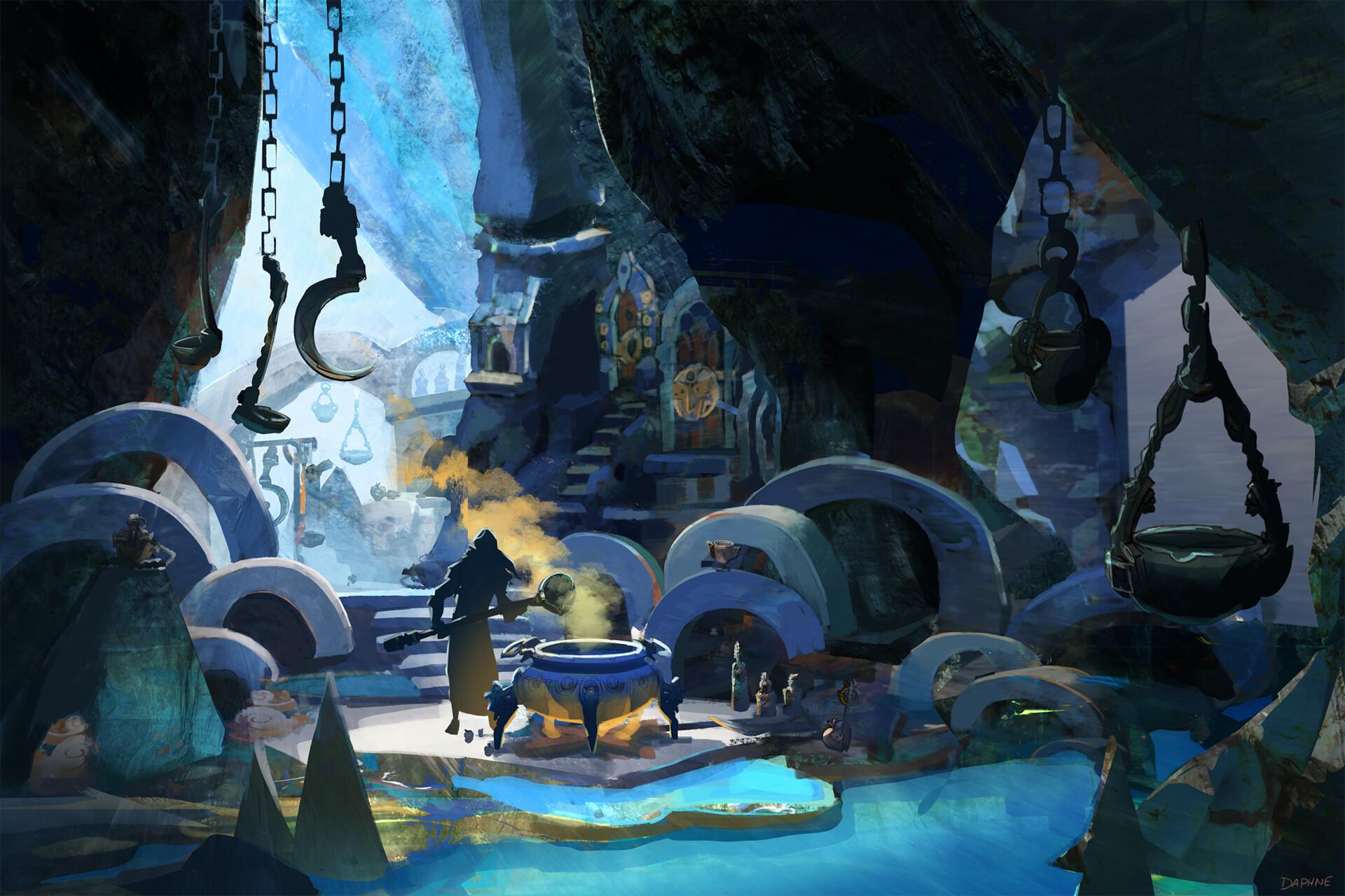 Potion Seller's Cavern