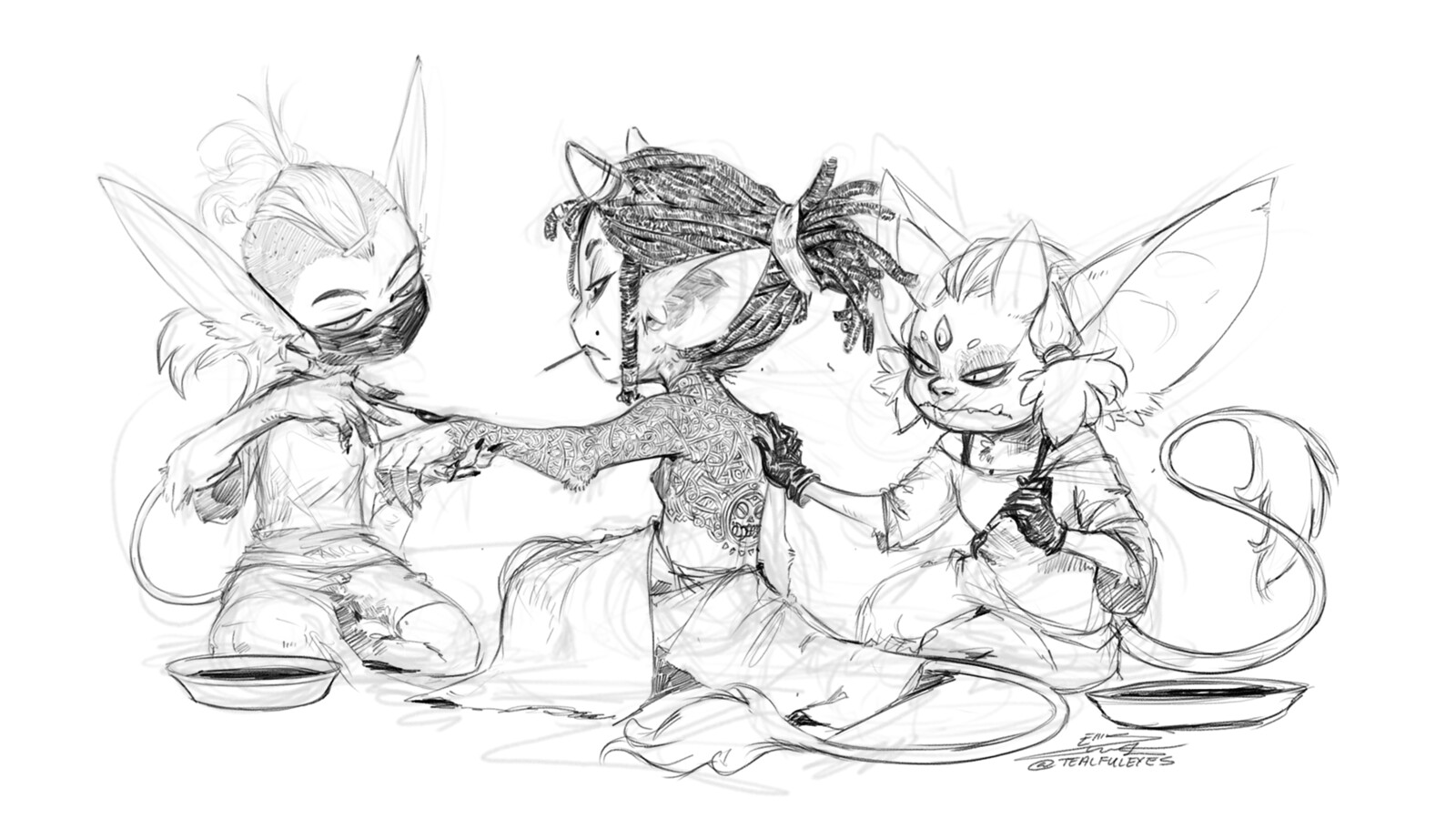 Imp Sketches