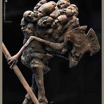 Surajit sen hunchback2 0 digital sculpture surajitsen june2020 a closed
