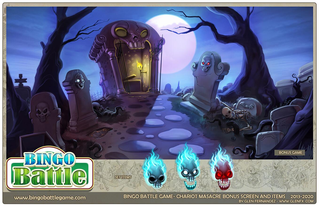 Final in-game bonus level mini game assets.