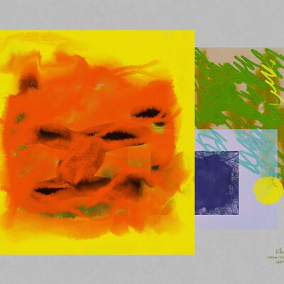 Feline/Human Hybrid - Self Portrait :: Channeled Extraterrestrial Art