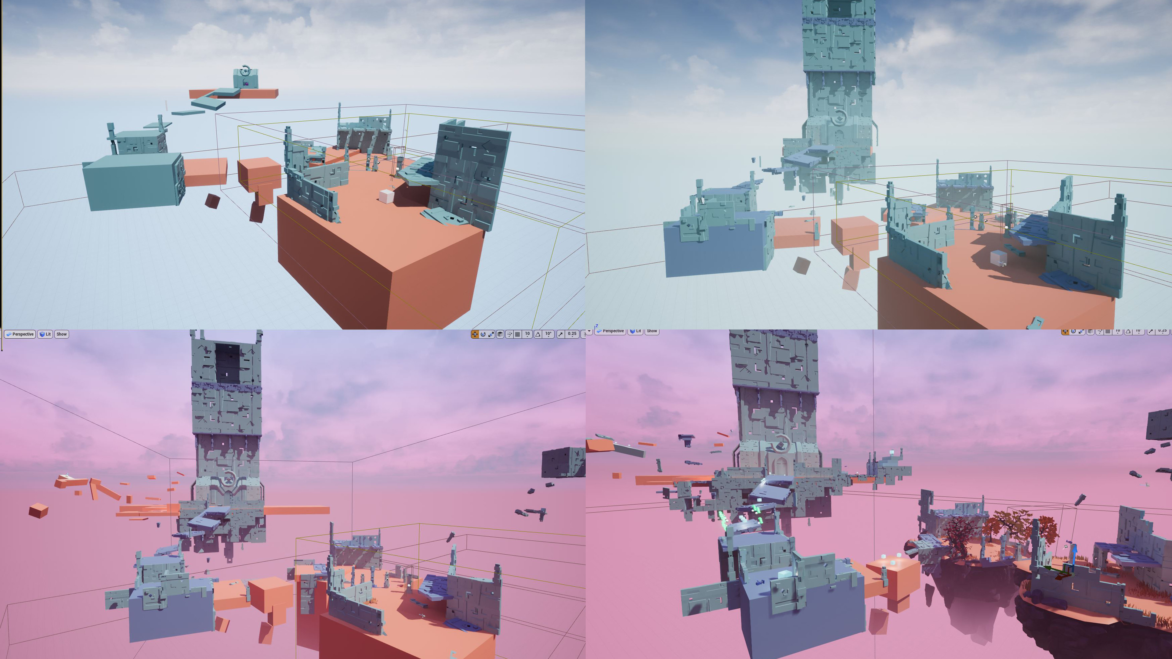 Level design's evolution