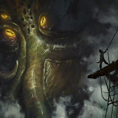 Elisa serio kraken illustra