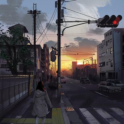 Ian ameling kyoto sunset2