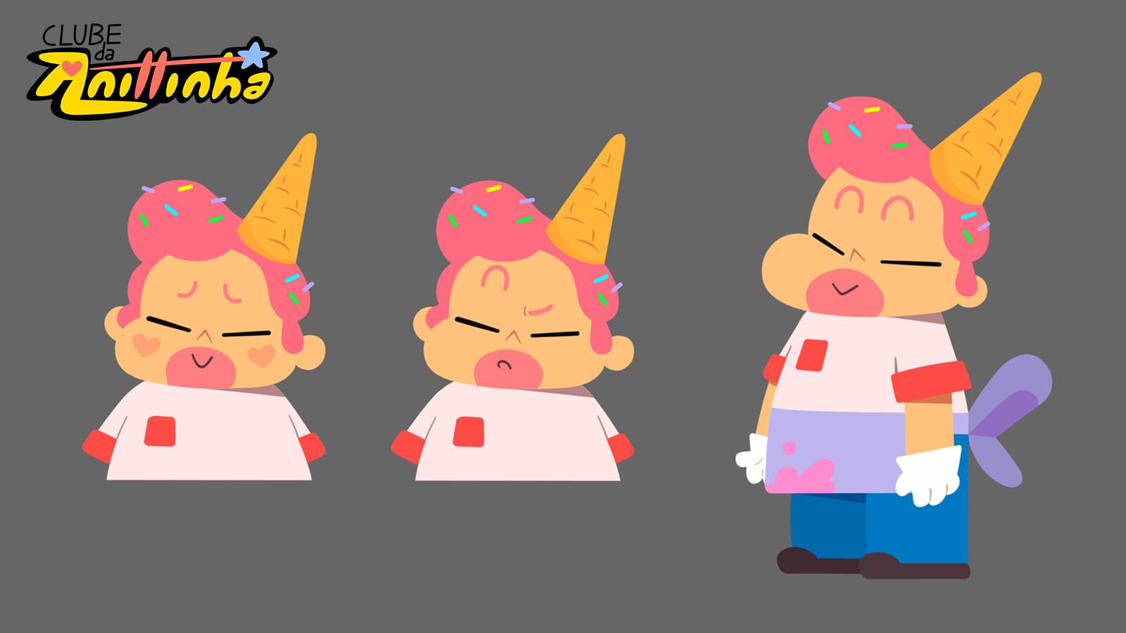 Character Design - IceMan