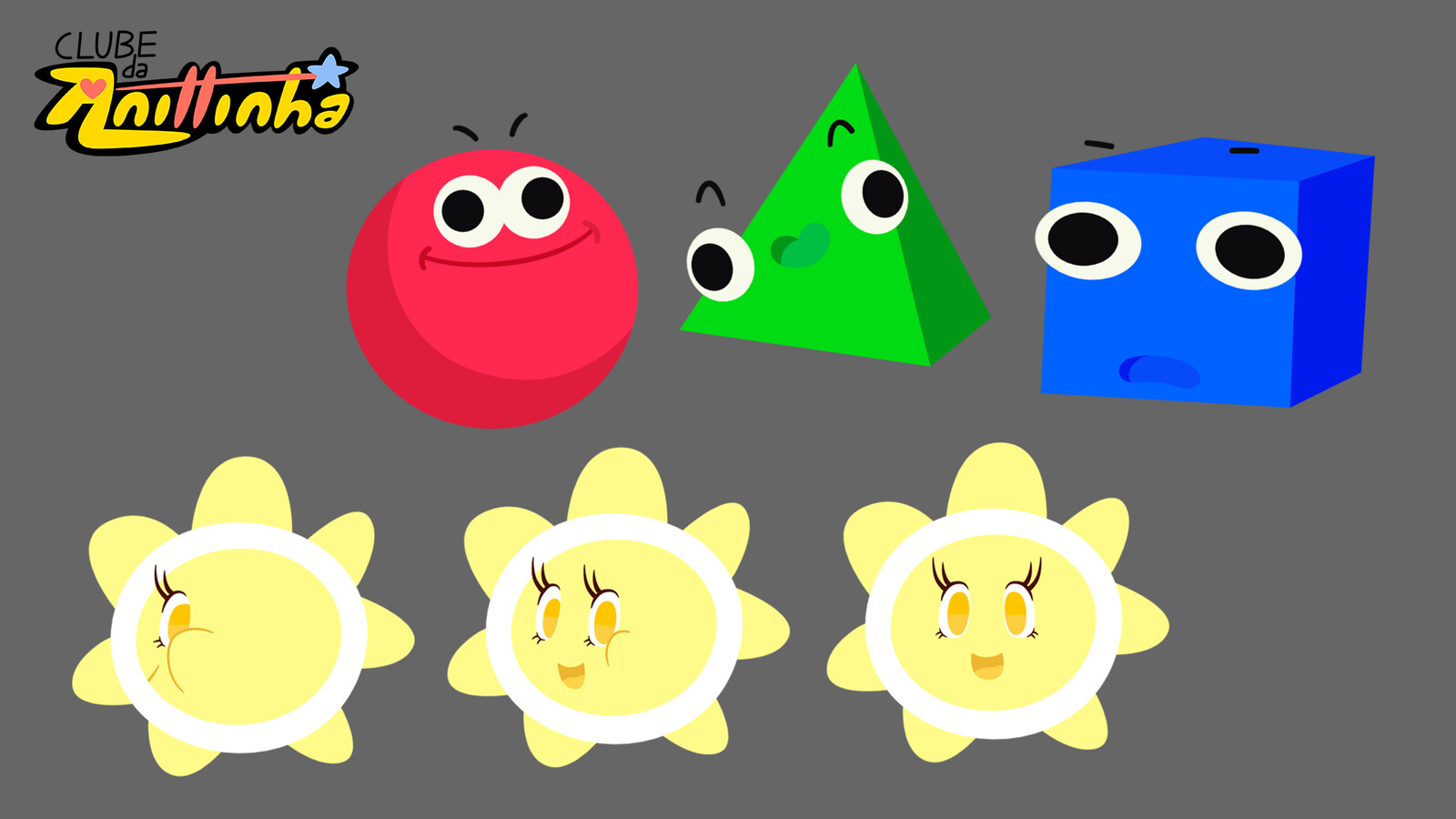 Character Design - Shapes and The Sun