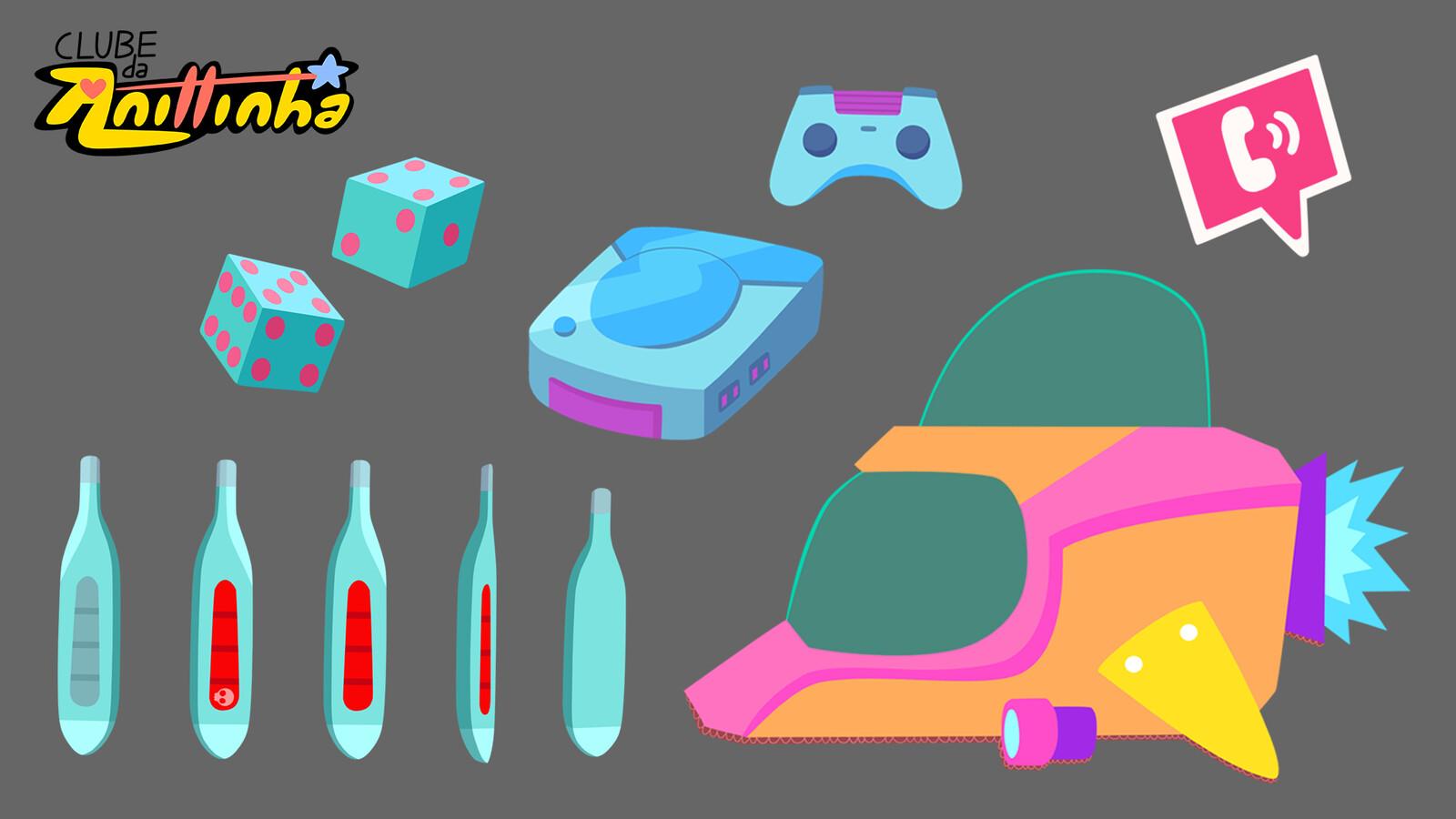 Prop Design - Random objects