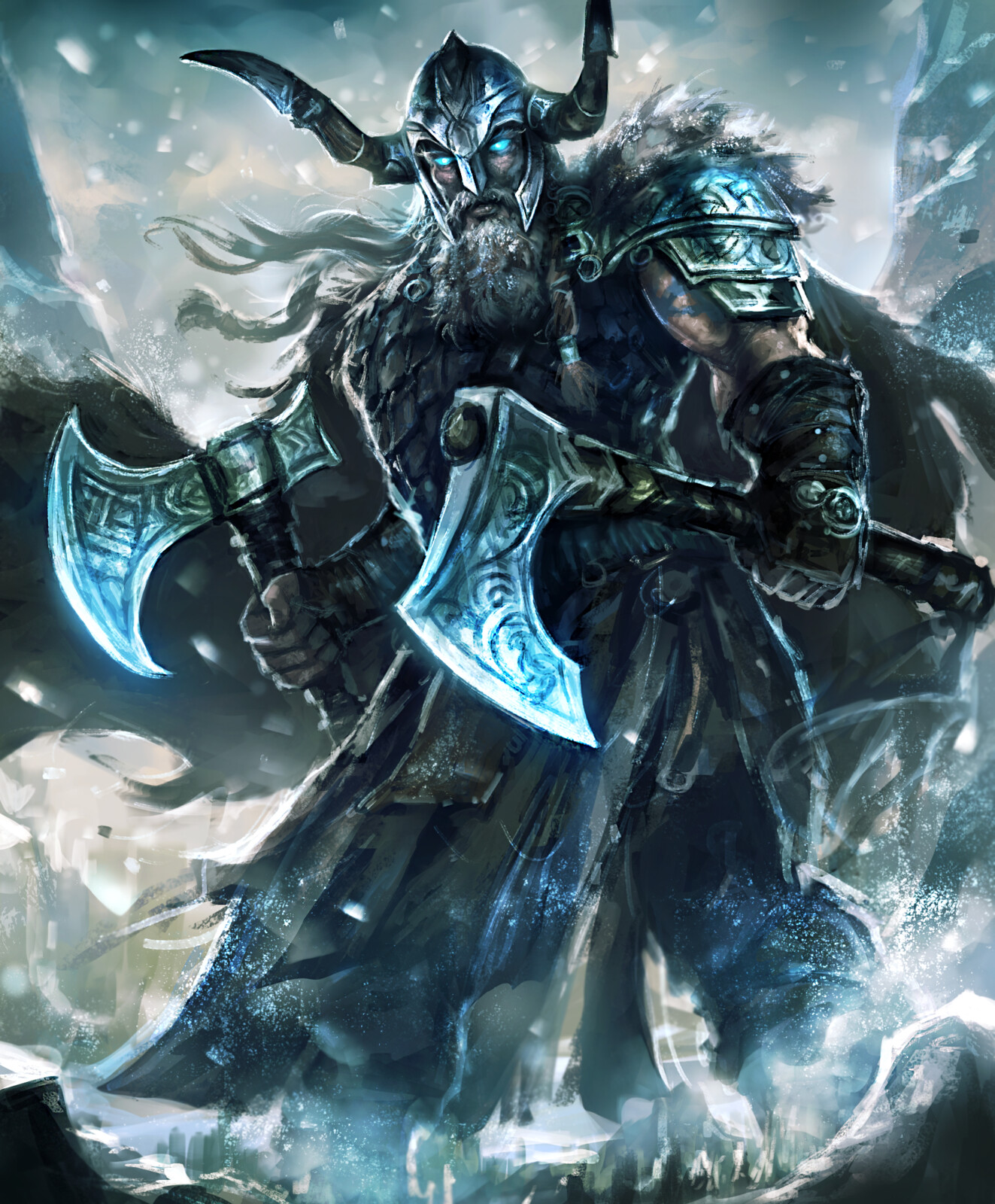 Frost Giant--Arcane Gladiator TCG