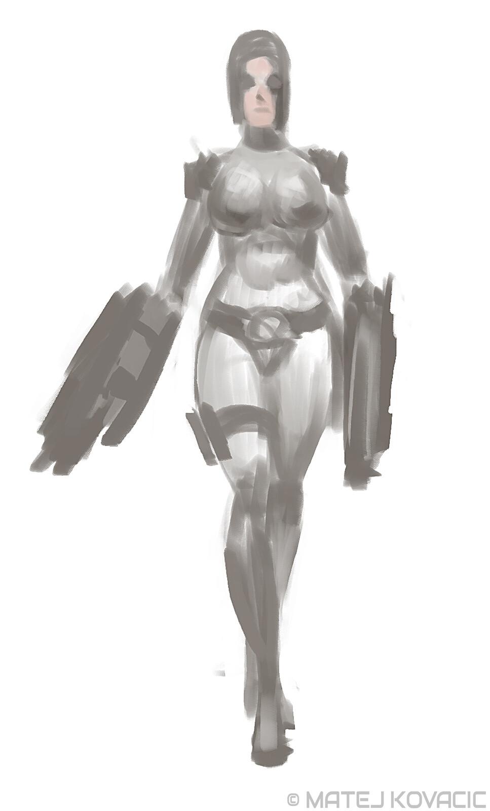 Miss Kill sketch