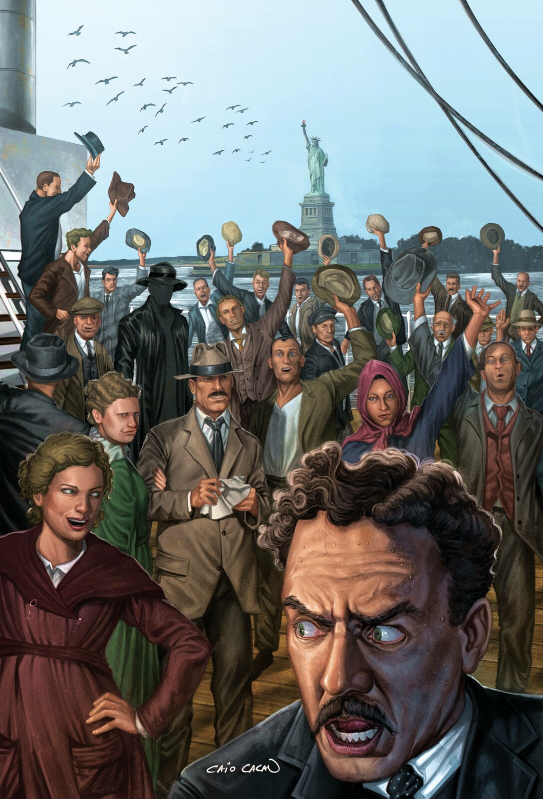 The Immigrant and Other Stories Cover