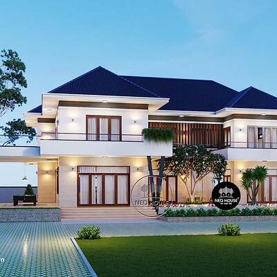 Neohouse architecture biet thu dep 2 tang mai thai 1