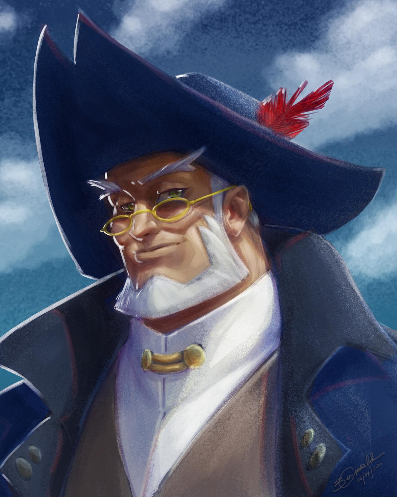 A Portrait of Captain Cain Albright