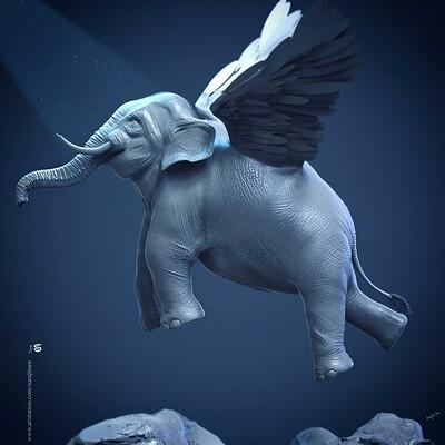 Surajit sen salvation the flying elephant2 0 june2020 surajitsen