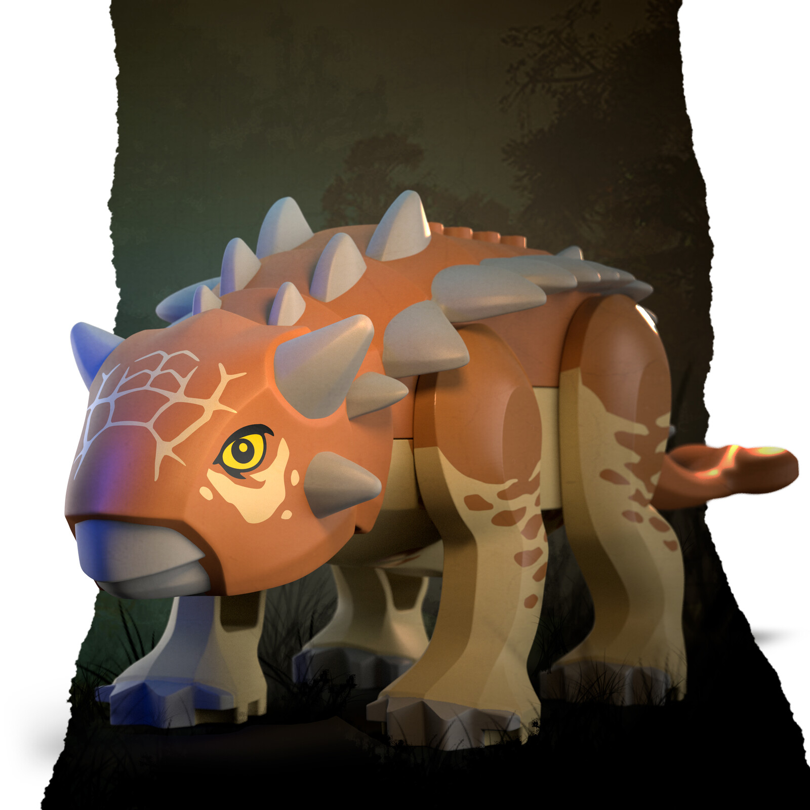 LEGO Buildable Ankylosaurus