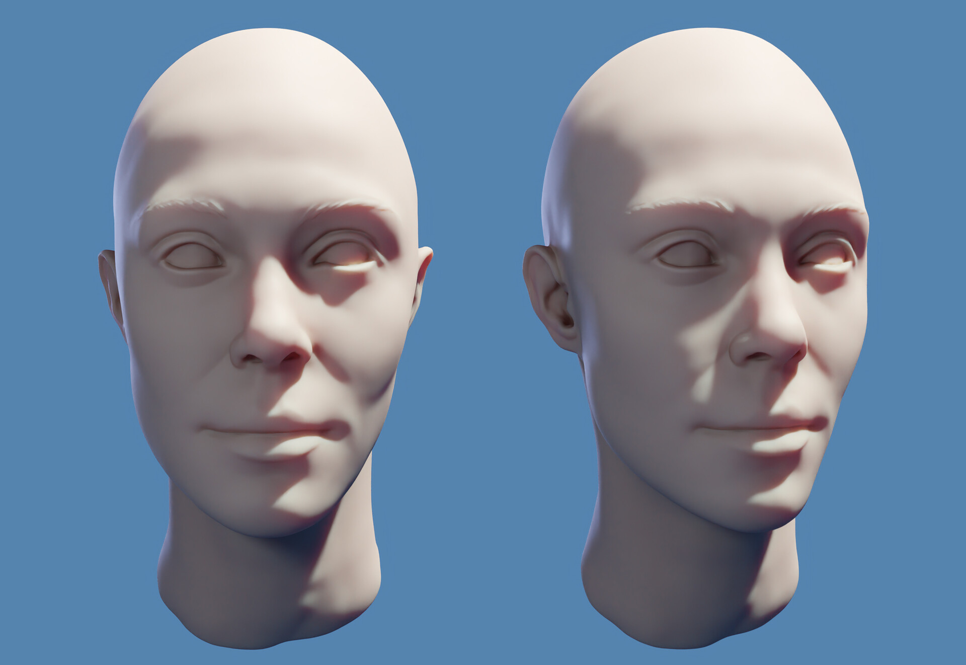 Sculpt from clean scan