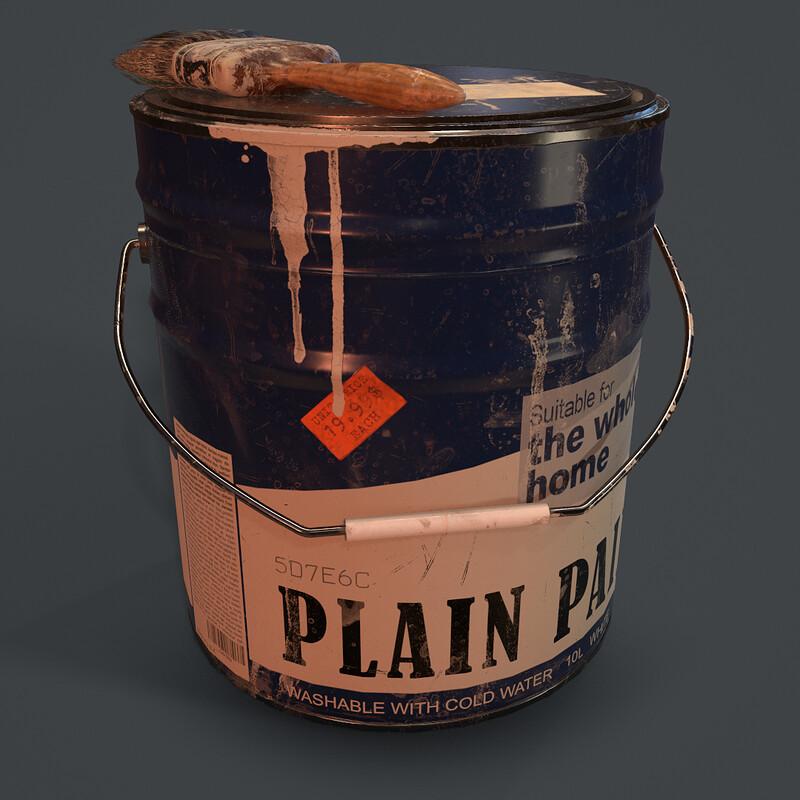 Paint Bucket - (Horror Corridor)