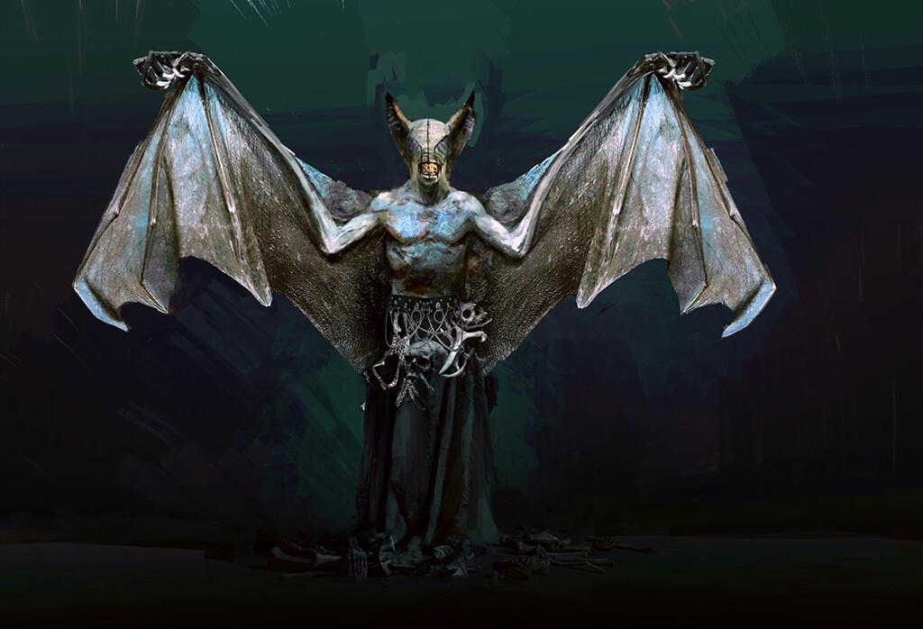 Bat creature