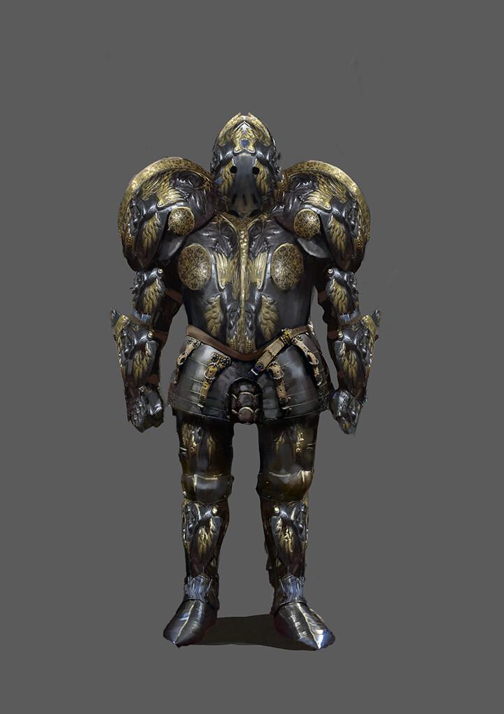 Knght heavy armor