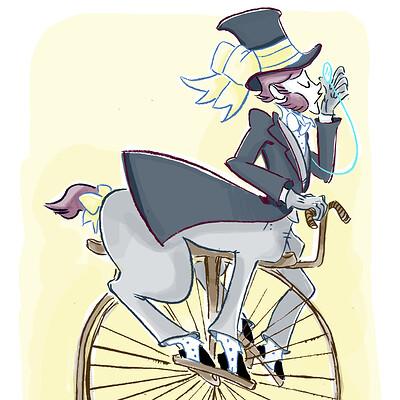 Miriam gibson victorian gentleman centaur