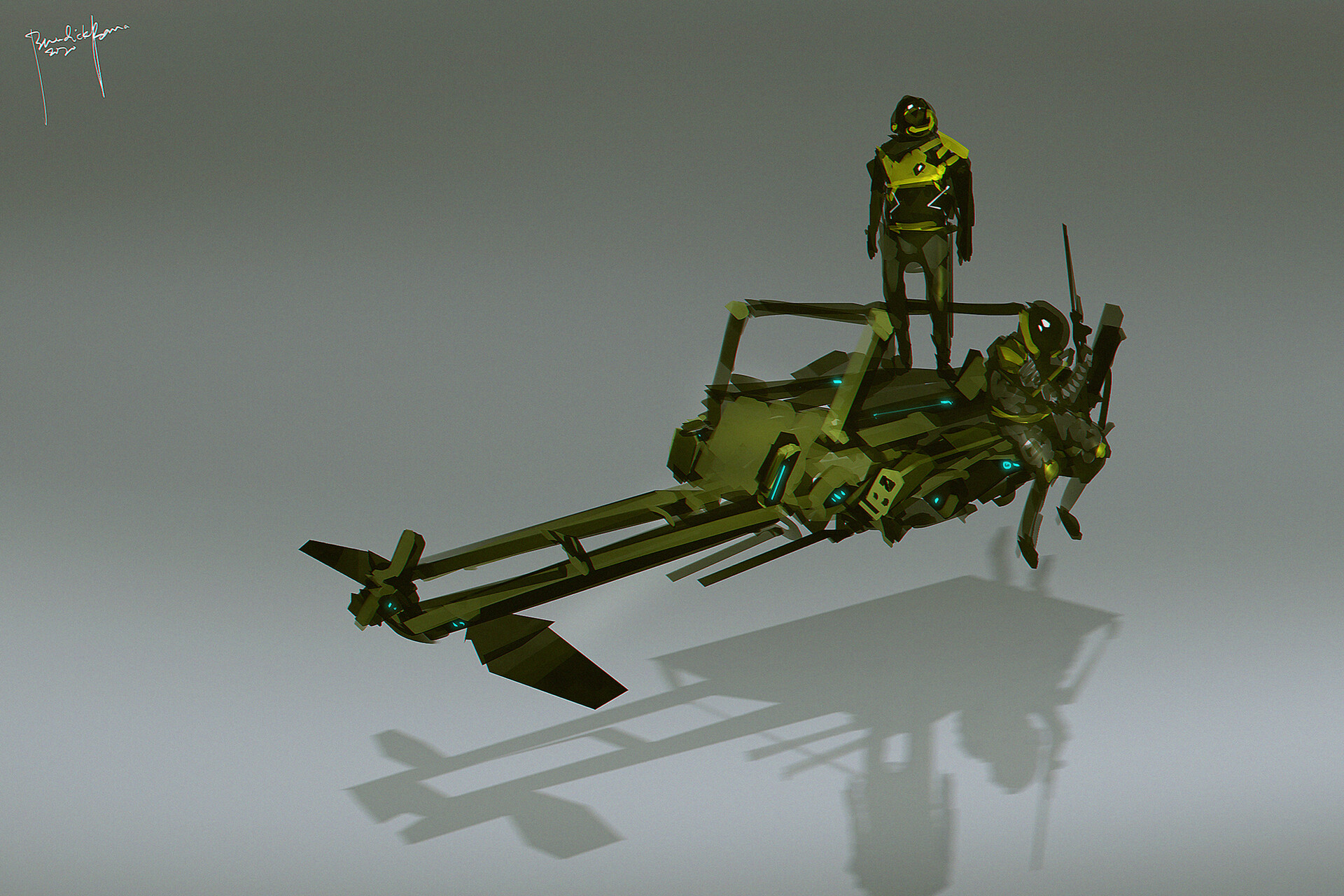 Hover Craft Concept