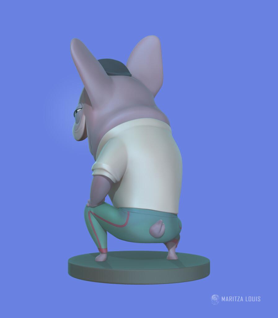 Lil Frenchie   Pucci   Sculpt update