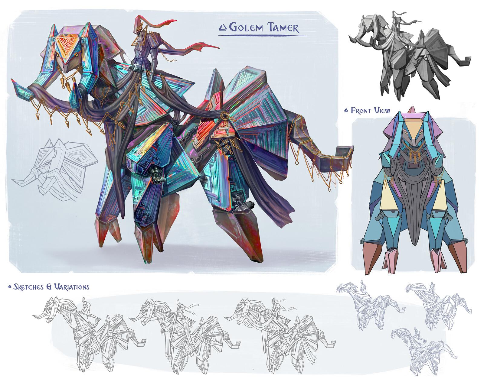 Bismuth Faction: Golem Tamer