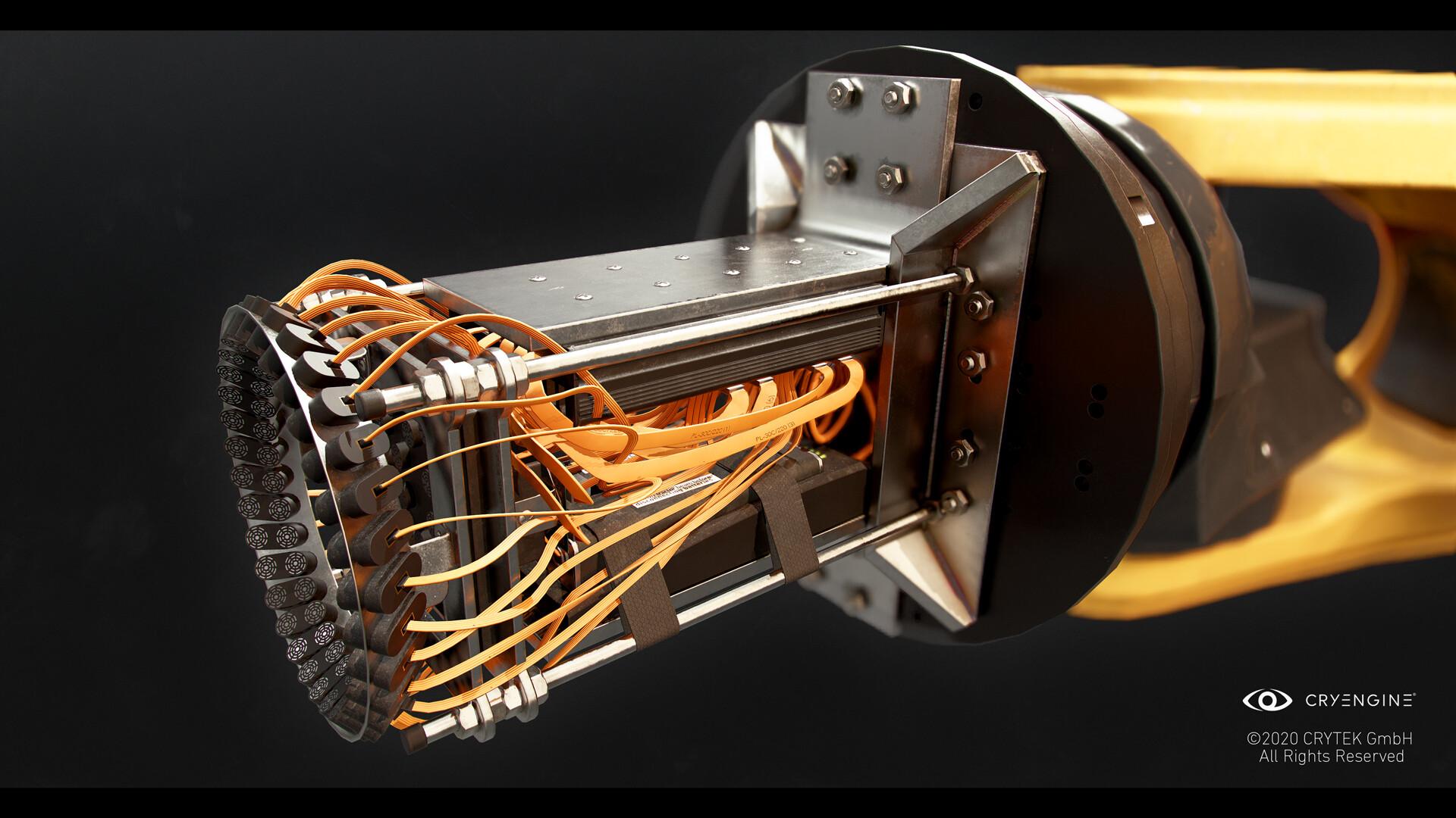 Portable tractor beam prototype attachment