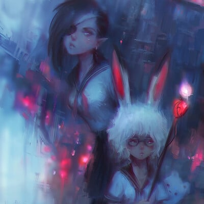 Alex chow unlikely magical girls