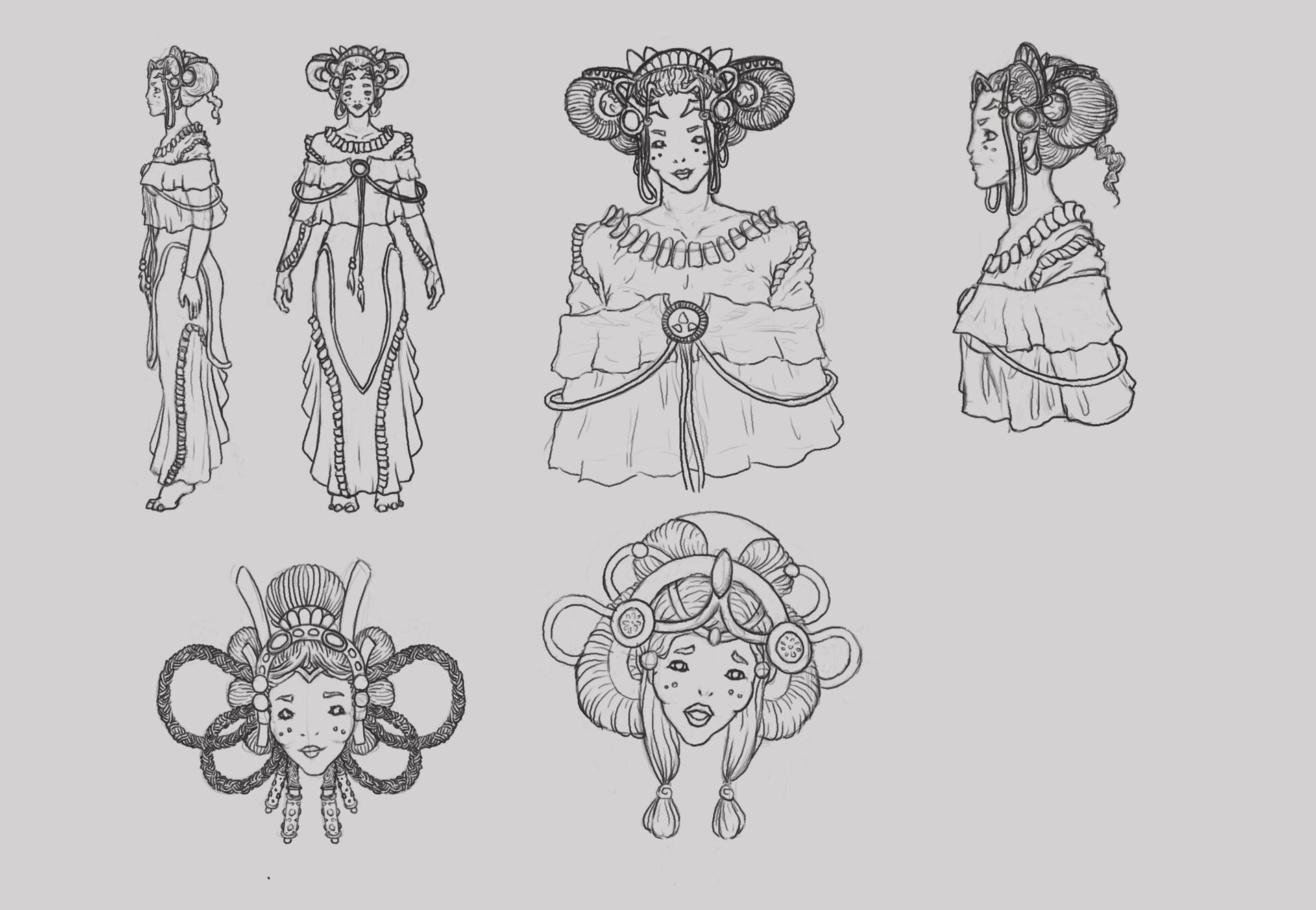 High Priest Gaebryel - Concepts