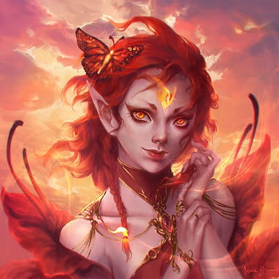 Grace zhu fire faerie remix 2