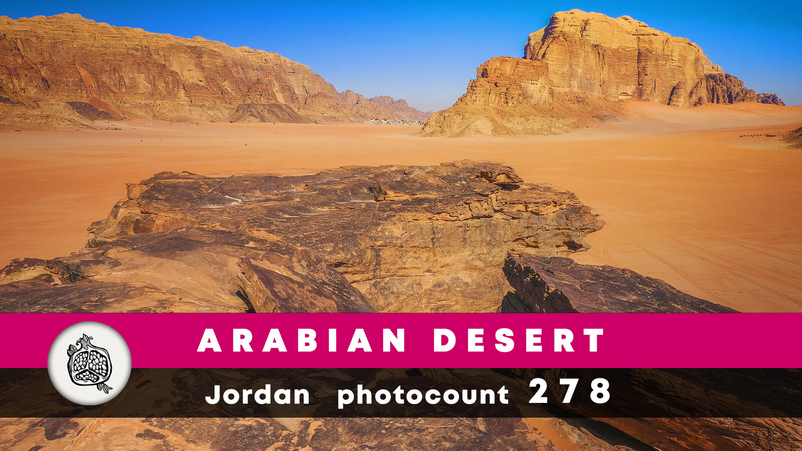 Arabian desert photopack