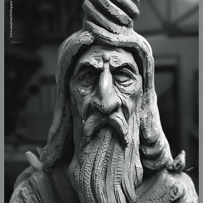 Surajit sen saint2 0 digital sculpture surajitsen june2020a