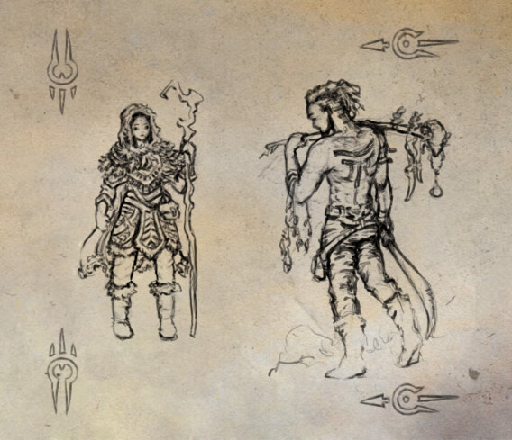 Character Concept Sketch