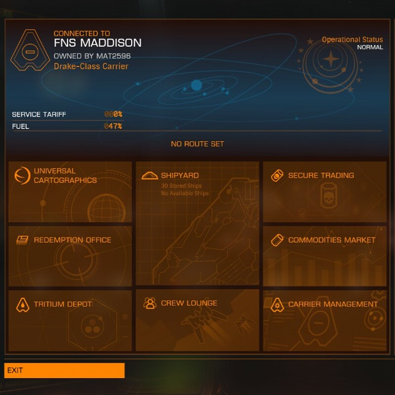 Elite Dangerous: Fleet Carrier Update - Carrier Activity Banners