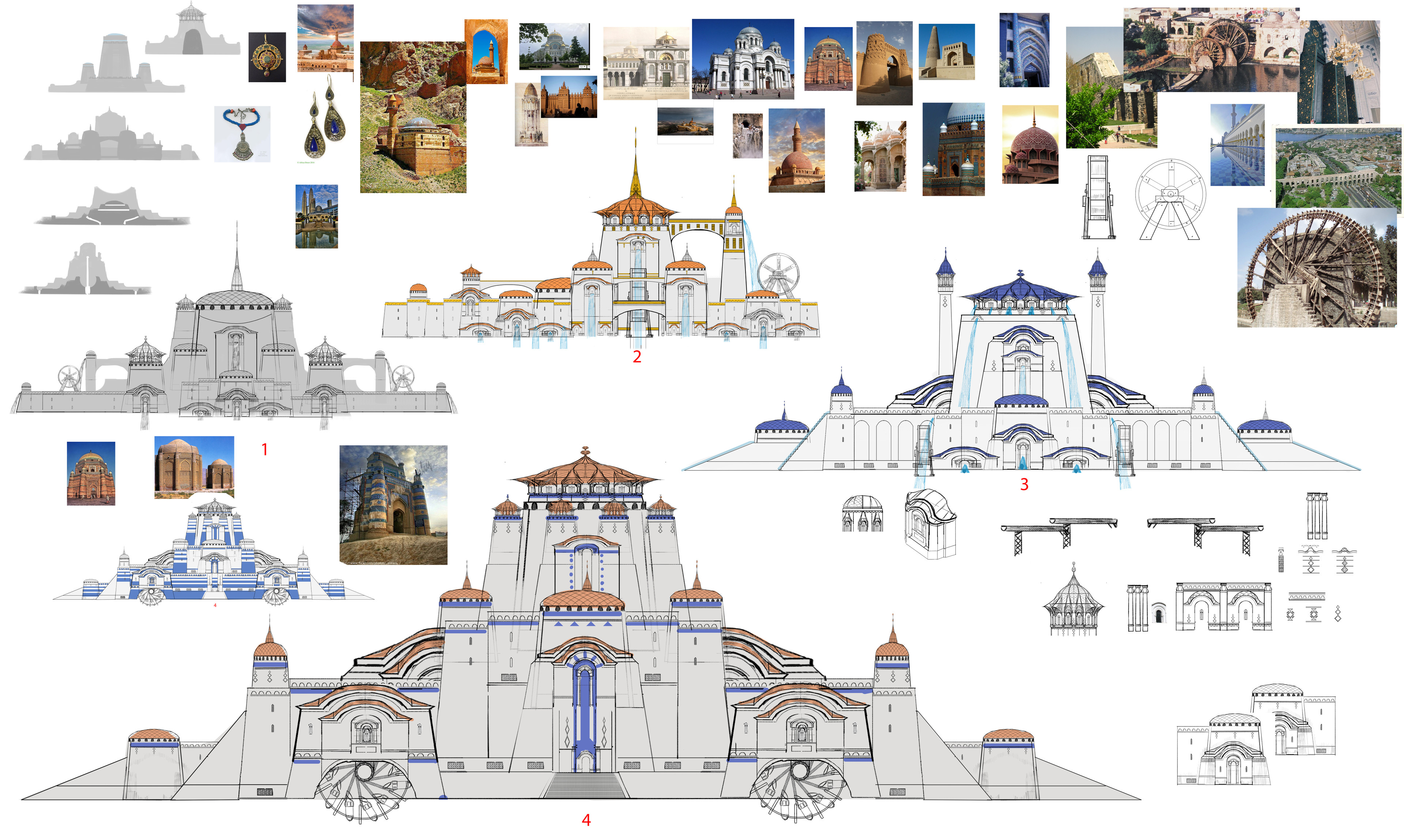 Sketches for the Palace